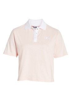 Fila Adiella Mesh Trim Crop Polo
