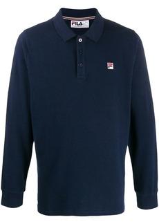 Fila Bertoni logo embroidered polo shirt