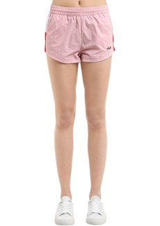Fila Brianna Woven Cotton Shorts