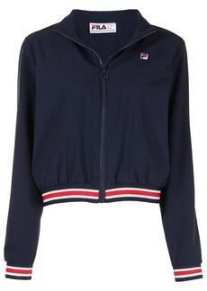 Fila Cadenza logo-embroidered bomber jacket
