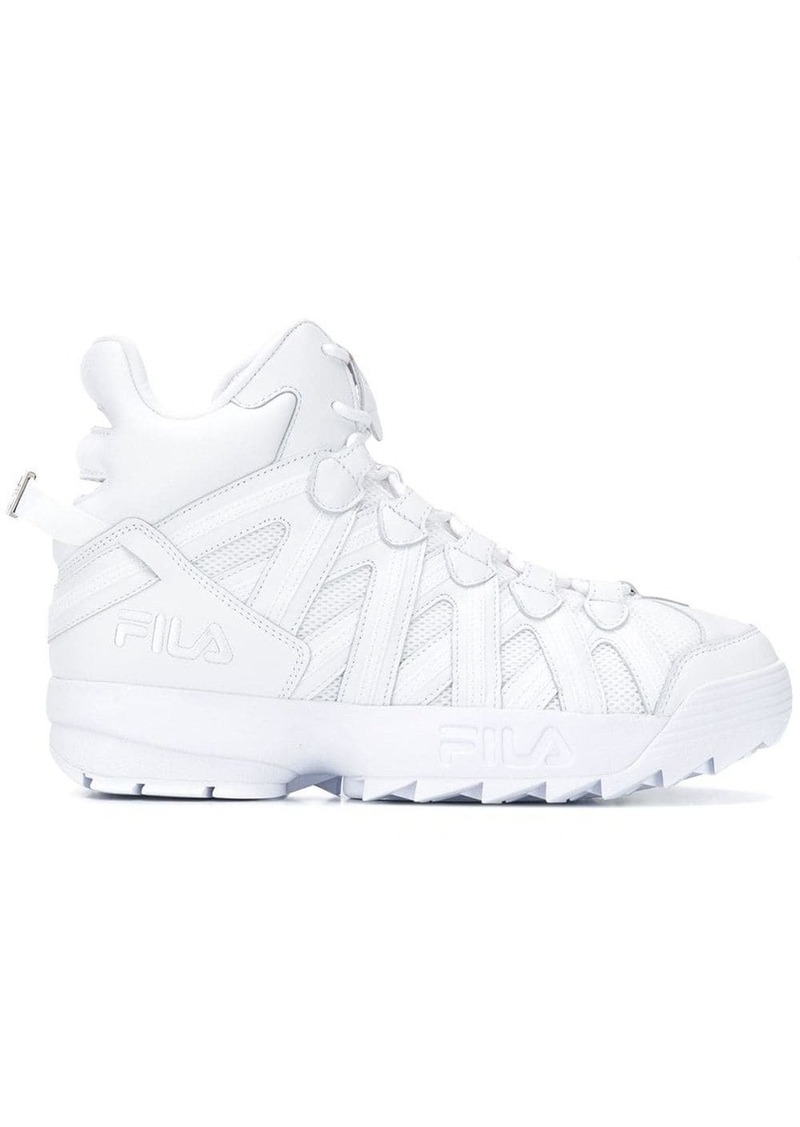 Fila chunky hi-top sneakers