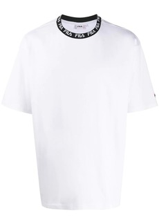 Fila collar-logo T-shirt
