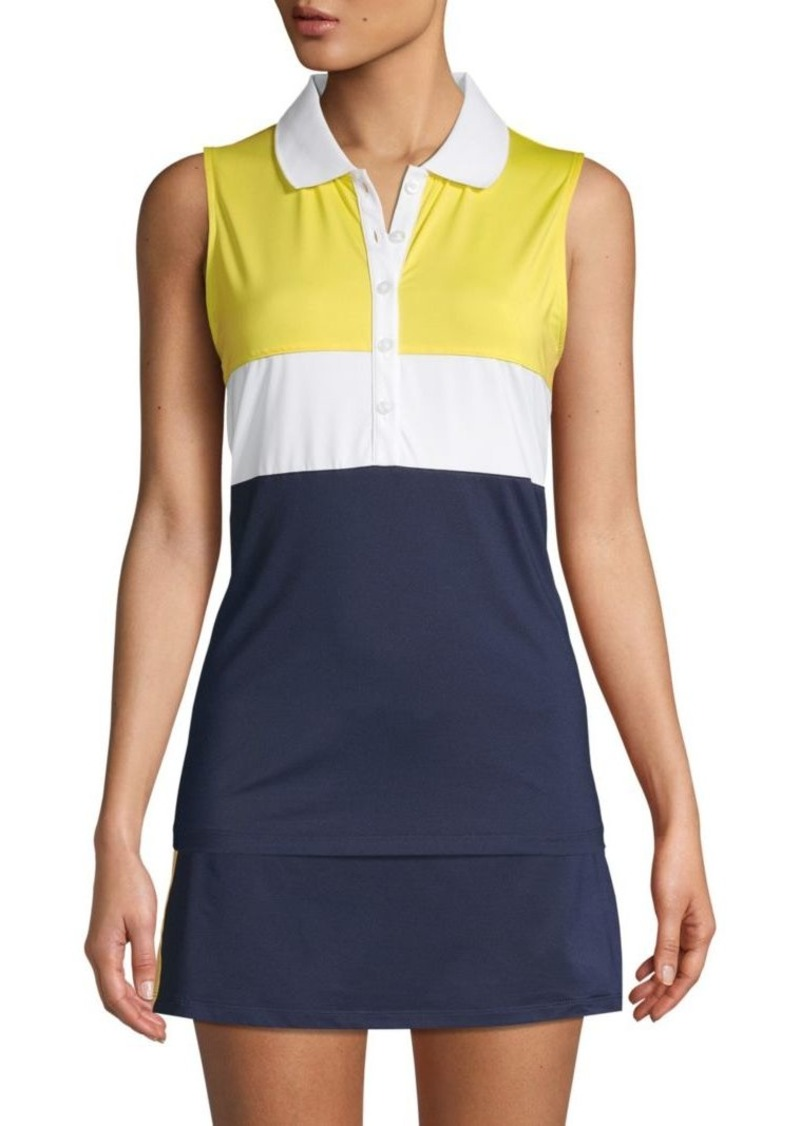 Fila Colorblock Sleeveless Polo
