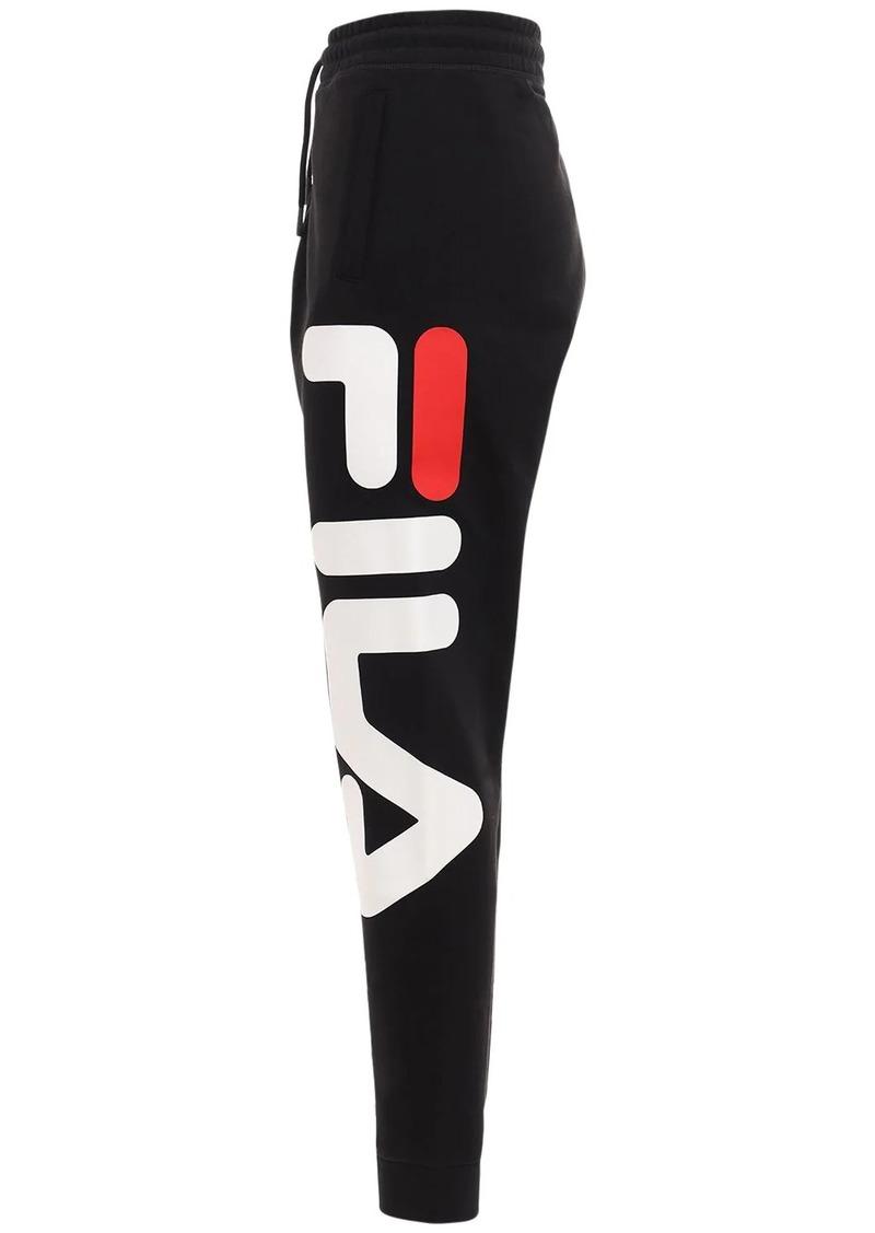 Fila Cotton Blend Tracksuit Pants