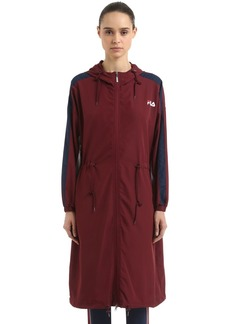 Fila Ellie Lightweight Nylon Long Jacket