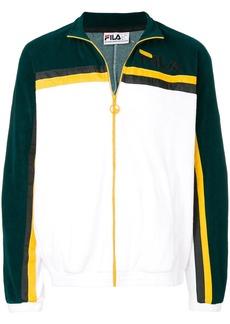 Fila embroidered logo zipped jacket