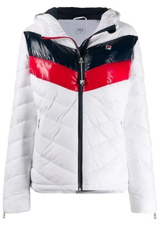 Fila color-block hooded jacket