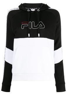 Fila logo-embroidered hoodie