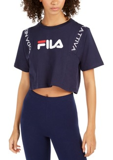 Fila Appoline Cotton Cropped T-Shirt