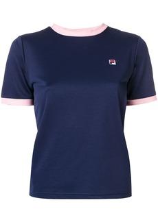 Fila contrast logo T-shirt - Blue