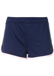 Fila contrast trim shorts - Blue