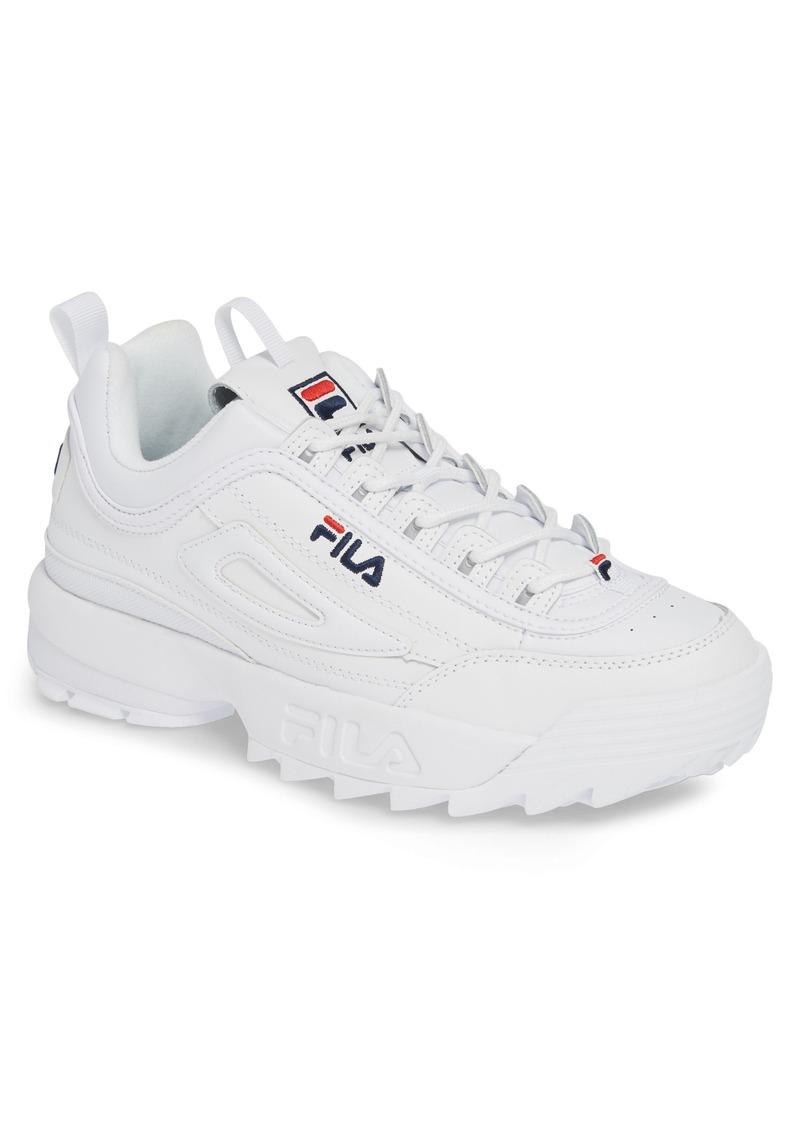 Frauen Fila Fila Fila Disruptor II Premium Athletic Schuhe
