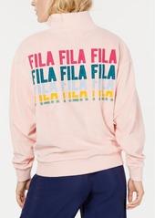 Fila Esperanza Quarter-Zip Logo Sweatshirt