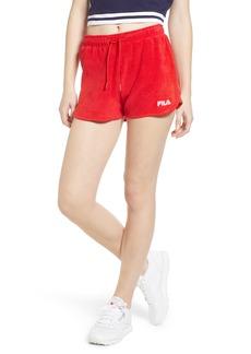 FILA Follie Velour Shorts