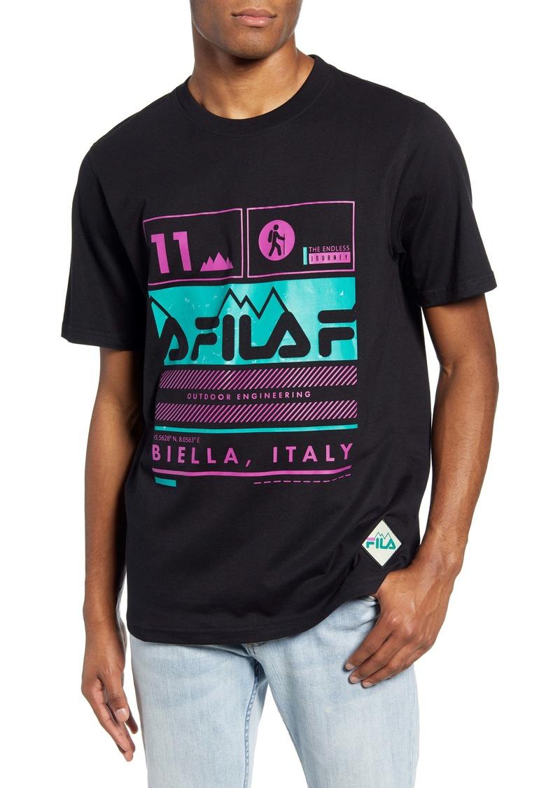 FILA Grid Graphic T-Shirt