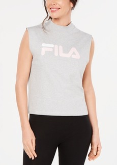 Fila Helena Logo Sleeveless T-Shirt
