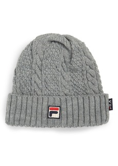 FILA Heritage Cable Knit Beanie
