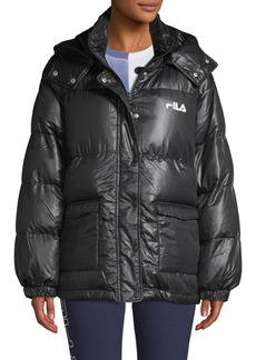 FILA Hooded Puffer Coat