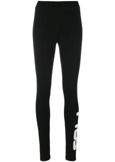 Fila logo fitted leggings - Black