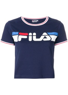 Fila logo print T-shirt - Blue
