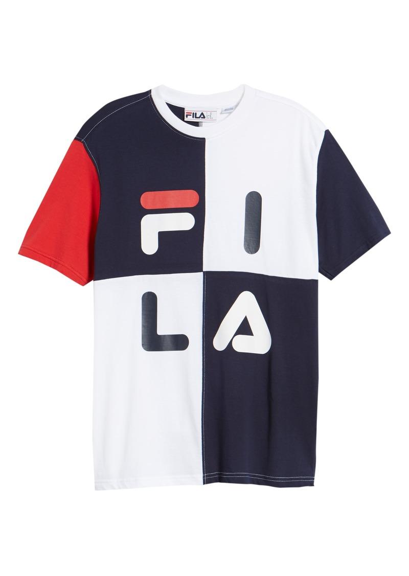 020be985251 Fila FILA Maddox Colorblock T-Shirt