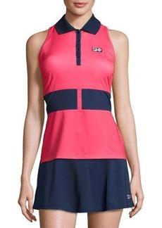 Fila MB Court Central Sleeveless Polo Shirt
