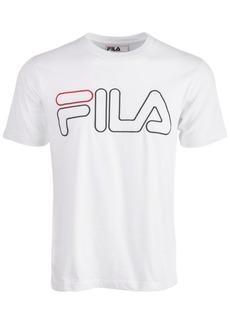 Fila Men's Borough Embroidered Logo Graphic T-Shirt
