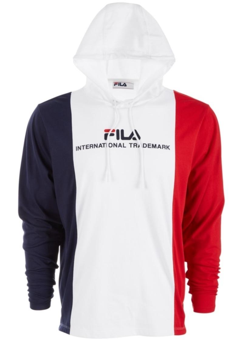 Fila Men's Colorblocked Logo Hoodie
