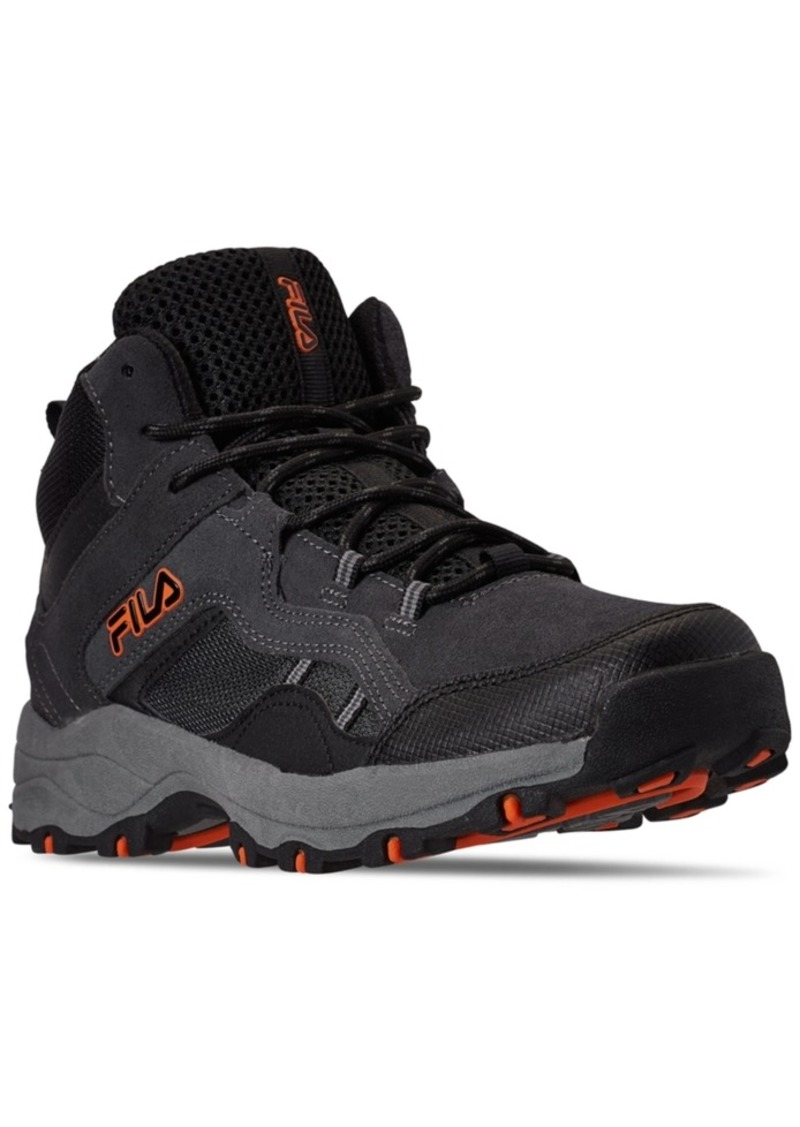 Fila Men's Country 19 Mid Casual Hiking Boots from Finish Line