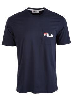 Fila Men's Curtis Logo Pocket T-Shirt