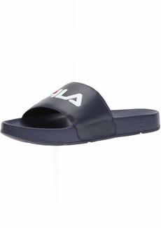 Fila Men's Drifter Sport Sandal Navy red/White 13 Medium US