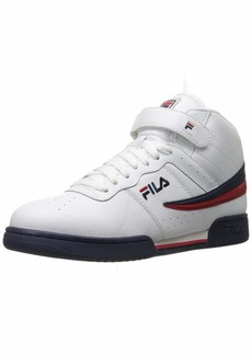 Fila Men's f-13v lea/syn Fashion Sneaker White Navy Red  M US