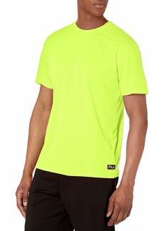 Fila Men's High Visibility Short Sleeve Top