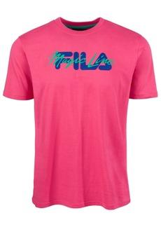 Fila Men's Kea Big Logo Graphic T-Shirt