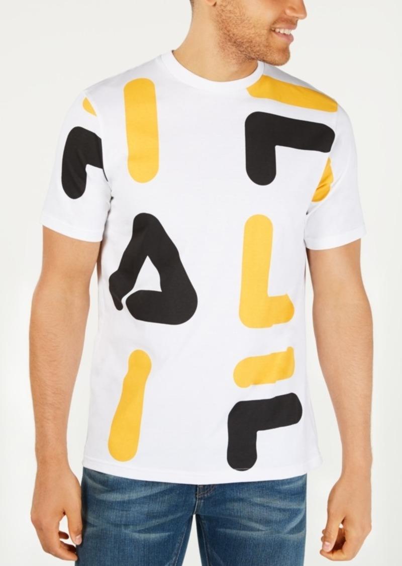 Fila Men's Logo Graphic T-Shirt