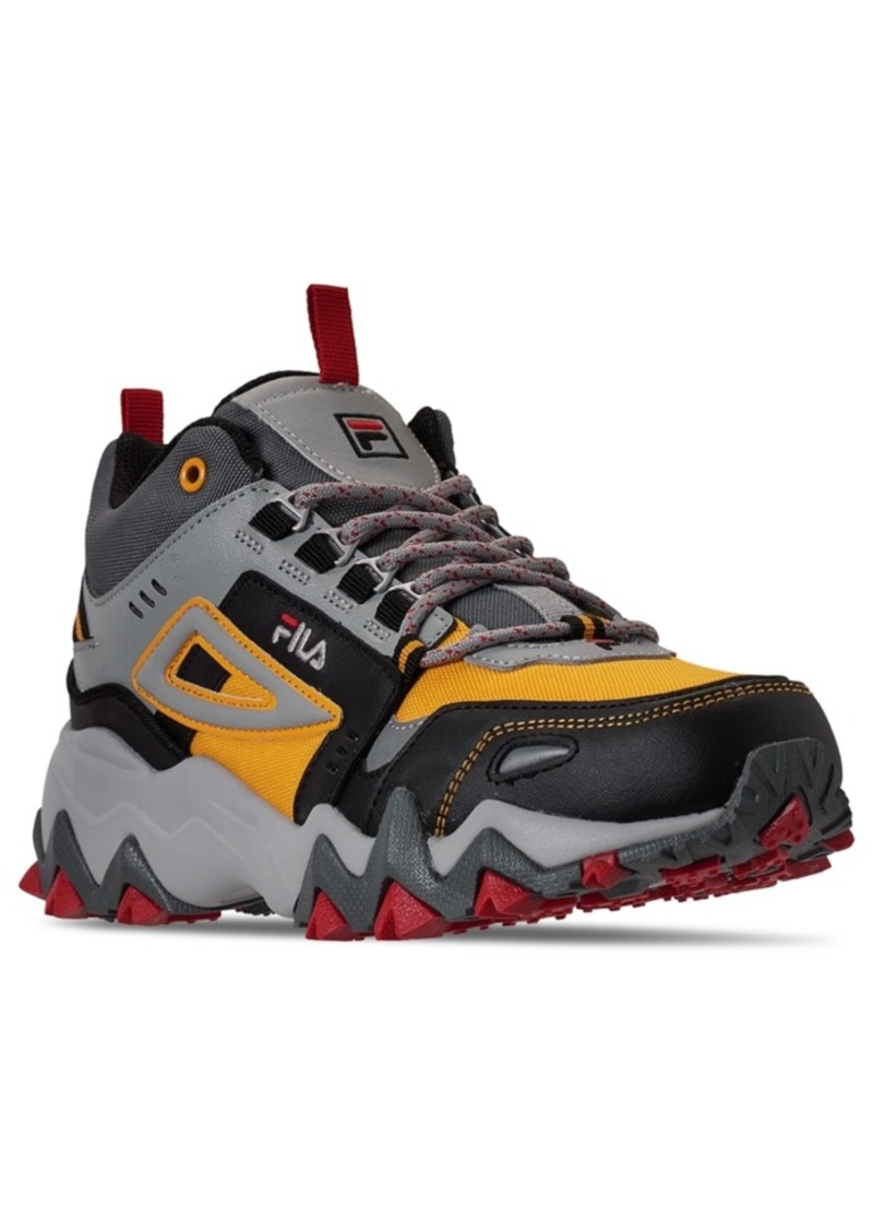 Fila Men's Oakmont Tr Mid Hiking Sneakers from Finish Line