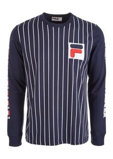 Fila Men's Tobias Logo Graphic Long Sleeve T-Shirt