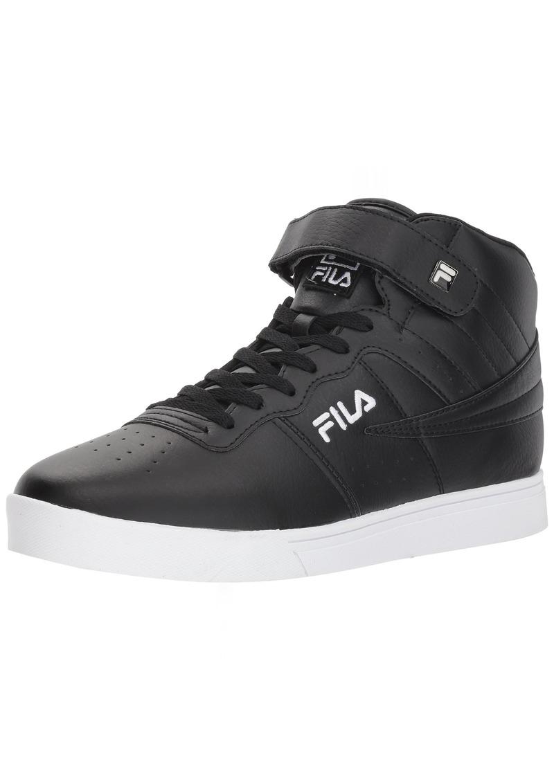 6002a51565 Men's Vulc 13 MID Plus 2 Walking Shoe Black/White 11.5 D US
