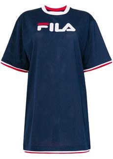 Fila mesh logo T-shirt - Blue
