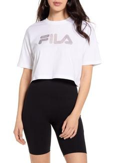 FILA Nasiba Embellished Crop T-Shirt