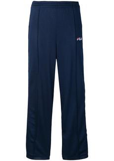 Fila Neka perforated track pants - Blue