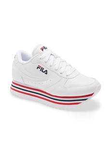 FILA Orbit Stripe Platform Sneaker (Women)