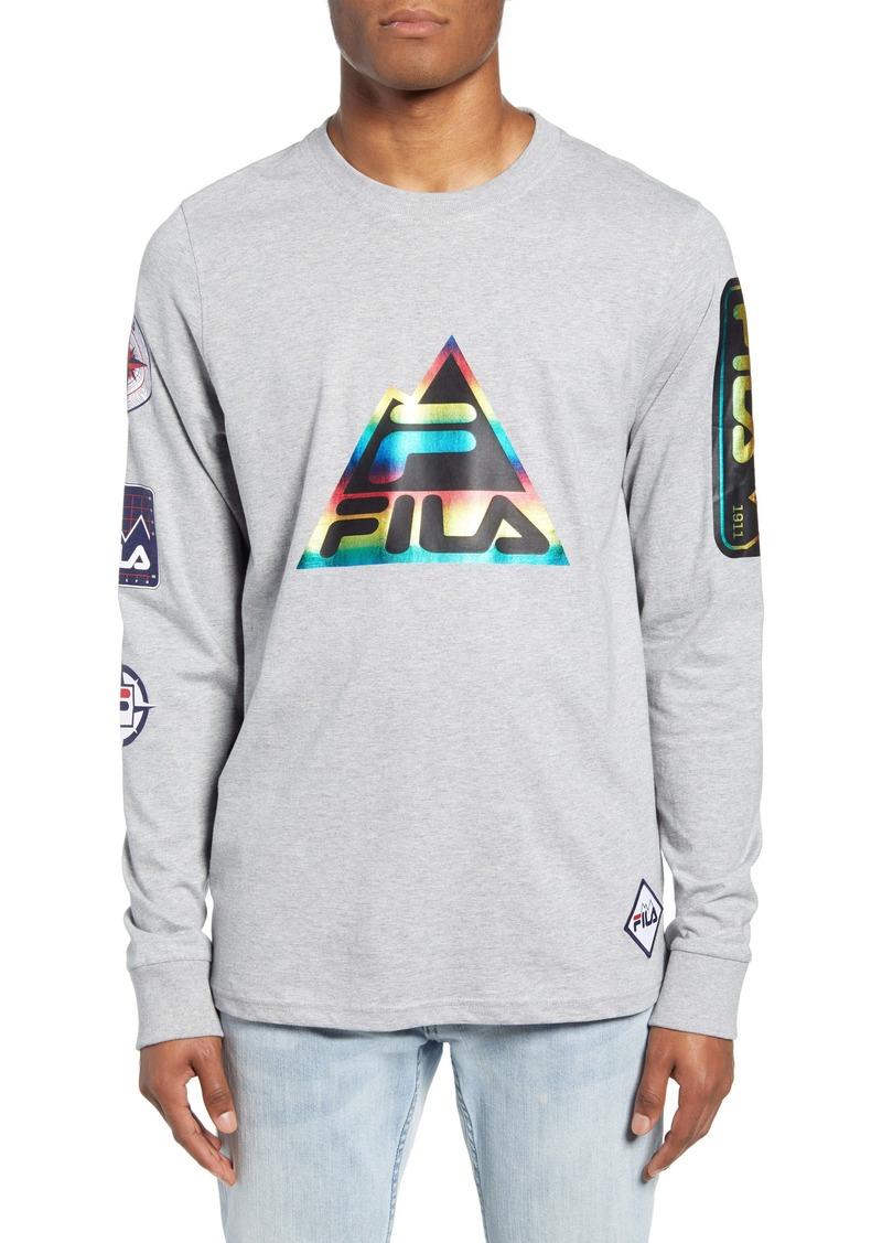 FILA Peak Long Sleeve T-Shirt