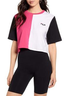 FILA Prudence Colorblock Crop T-Shirt