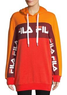 FILA Rita Oversized Logo Hoodie