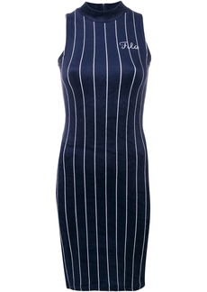 Fila striped fitted dress - Blue