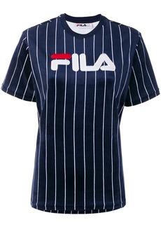 Fila Tux pinstripe logo T-shirt - Blue