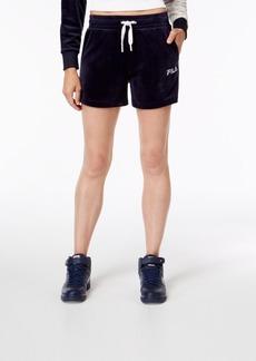 Fila Velour Shorts