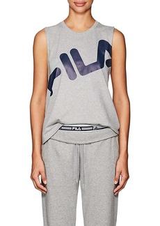 FILA Women's Callie Logo Crop T-Shirt