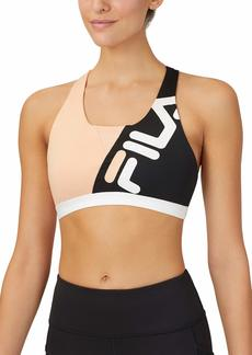 Fila Women's Color Blocked Sports Bra  L